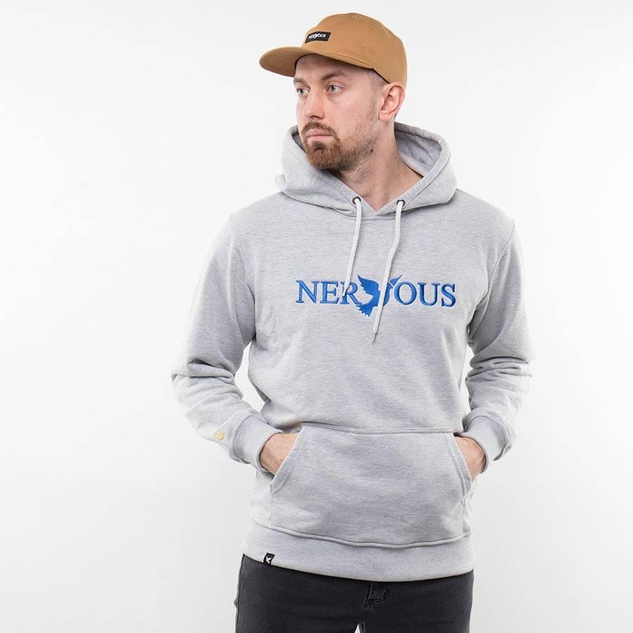 Nervous CLASSIC Bluza z kapturem Szary/Chabrowy