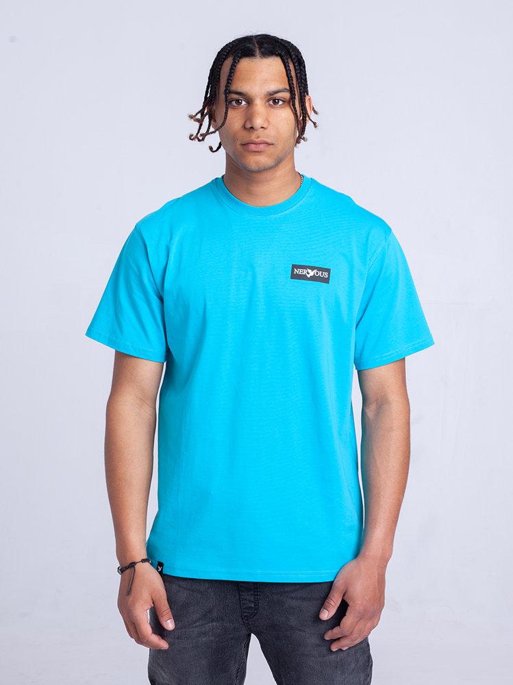 Nervous CLASSIC SMALL T-Shirt Aqua