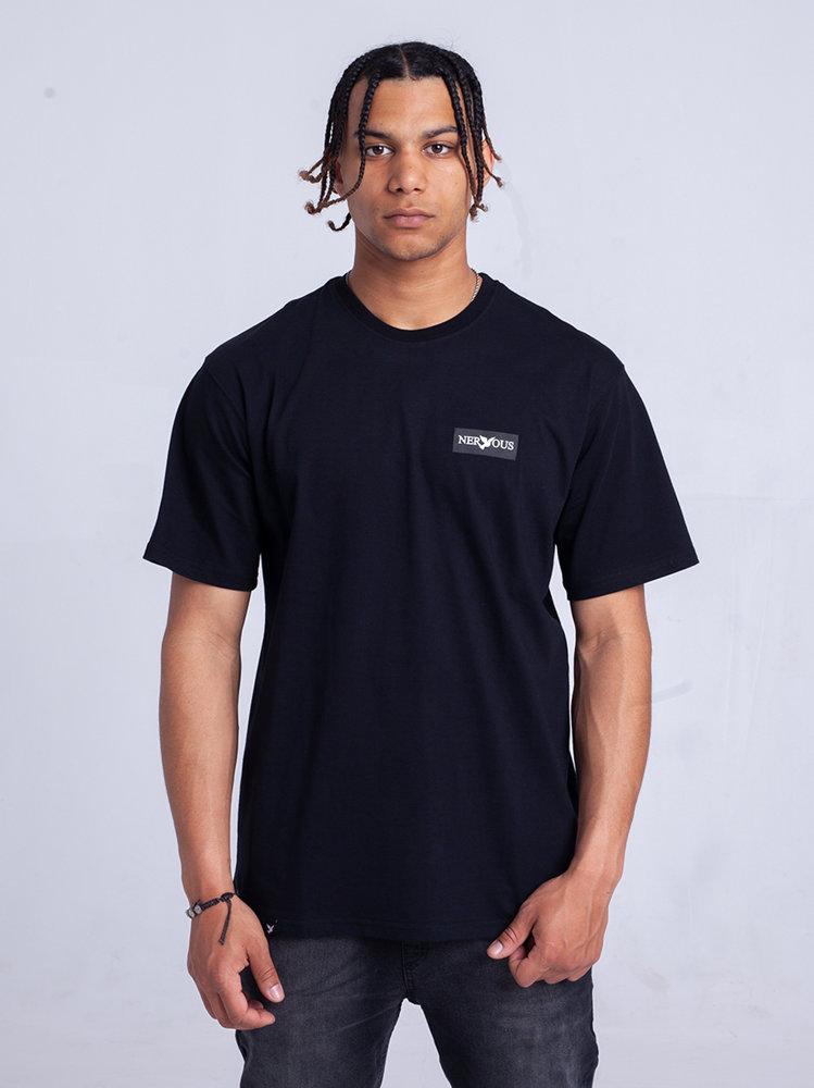 Nervous CLASSIC SMALL T-Shirt Czarny