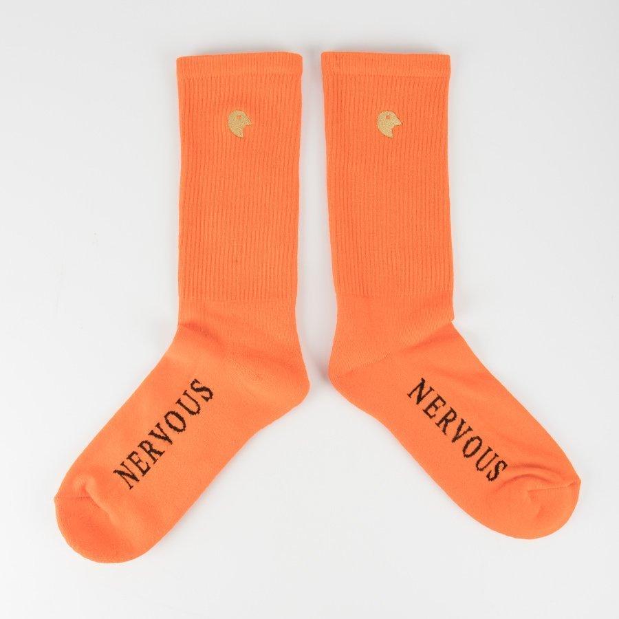 Nervous GOLDHEAD Skarpetki Pomarańczowy