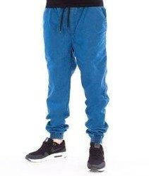 Patriotic-Futura Pelt Spodnie Jeansowe Jogger Niebieski