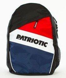 Patriotic-Futura Plecak Czarny/Czerwony/Biały/Granatowy