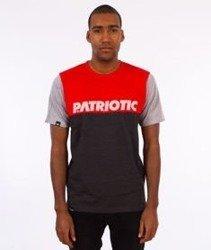 Patriotic-Shoulder FF T-shirt Grafit/Czerwony/Szary