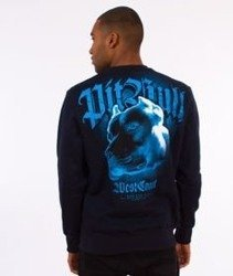 Pit Bull West Coast-Blue Eyed Devil VI Crewneck Bluza Granatowa