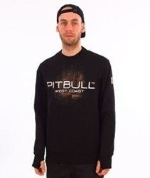 Pit Bull West Coast-City of Dogs 18 Crewneck Bluza Czarna