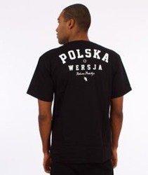 Polska Wersja-PW Godło T-Shirt Czarny