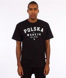 Polska Wersja-Rodzima Produkcja T-Shirt Czarny