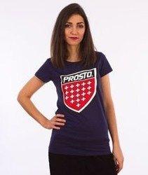 Prosto-Assist T-shirt Damski Granatowy