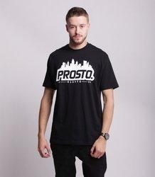 Prosto HORIZ T-Shirt Czarny