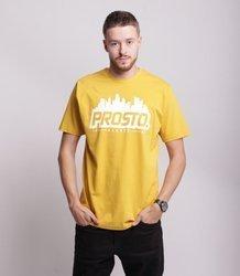 Prosto HORIZ T-Shirt Żółty