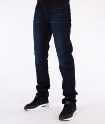 RocaWear-Dark Night Blue Relaxed Fit Spodnie Jeans R00J9911E 858