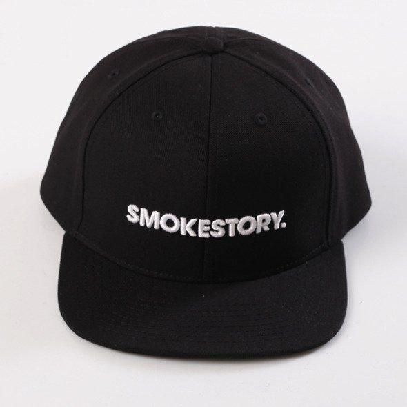 Smoke Story-SMOKESTORY Snapback Czarny