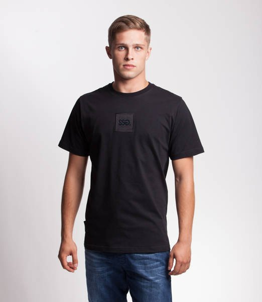Smoke Story SQUARE T-Shirt Czarny