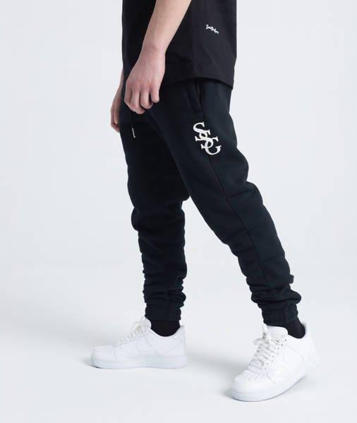 Smoke Story SSG SLANT Spodnie Dresowe Slim Czarny