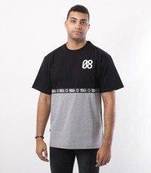 SmokeStory-08 Line T-Shirt Czarny/Szary