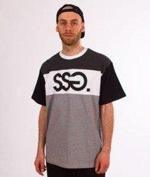 SmokeStory-Gray T-Shirt Szary/Ciemno Szary
