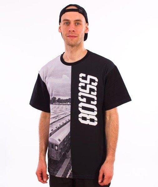 SmokeStory-Half Train T-Shirt Czarny