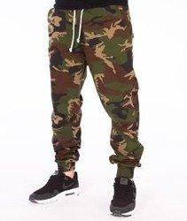 SmokeStory-Klasyk Jogger Slim Spodnie Camo
