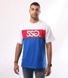 SmokeStory-Line SSG T-Shirt Biały/Chaber