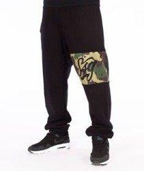 SmokeStory-Moro Line Regular Spodnie Dresowe Czarne