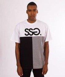 SmokeStory-SSG Cut Bottom T-Shirt Biały