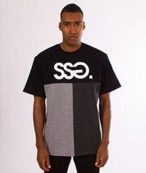 SmokeStory-SSG Cut Bottom T-Shirt Czarny