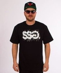 SmokeStory-SSG Cut T-Shirt Czarny