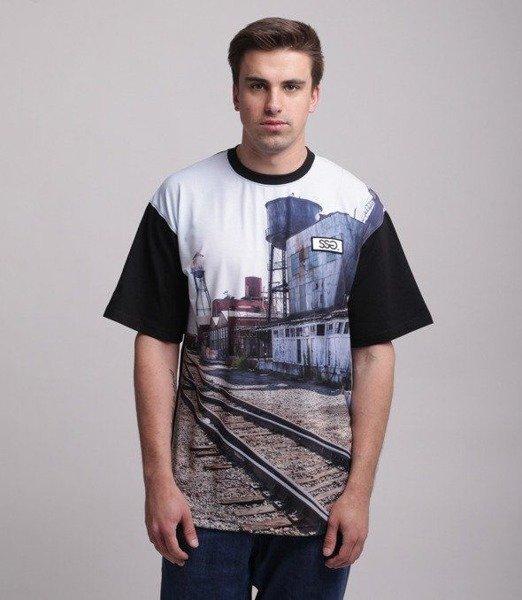 SmokeStory-Station T-Shirt Czarny