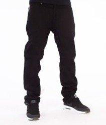Southpole-Slim Straight Spodnie Jeans Black