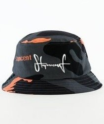 Stoprocent-CZ Bucket Hat Czapka Camu Coral