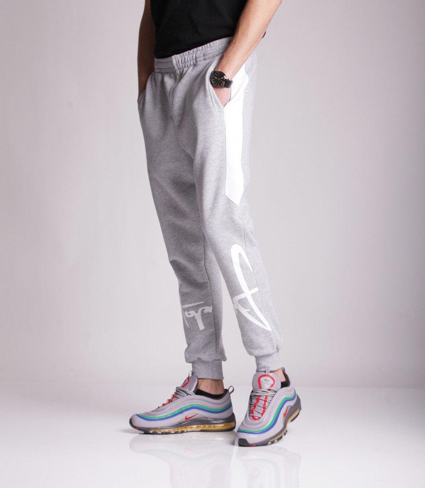 Stoprocent LEGTAG Spodnie Dresowe Szary