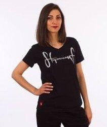 Stoprocent-Tag17 T-Shirt Damski Czarny
