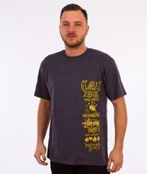 Stussy-Global Gathering T-Shirt Midnight