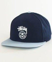 Stussy-Stock Lock Sp18 Cap Czapka Navy