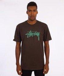 Stussy-Stock T-Shirt Grafitowy