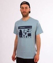 d85b9a553a44 Tabasko-Jigsaw T-Shirt Błękitny