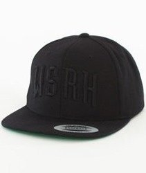 WSRH-Arch Logo Snapback Czarny/Czarny