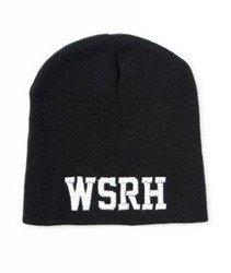WSRH-Czaszka Beanie Czapka Zimowa Czarna
