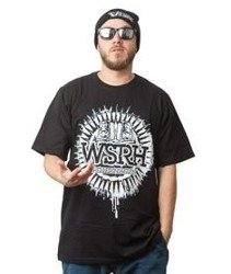 WSRH-Słońce T-shirt Czarny