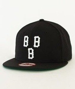 Black Scale-Triple B Logo New Era Snapback Black