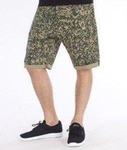 Carhartt-Swell Krótkie Spodnie Camo Stain/Leaf Rigid
