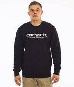 Carhartt-WIP Script Sweatshirt Cotton Black/White
