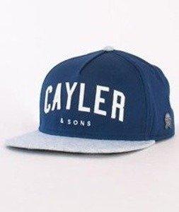 Cayler & Sons-Felton Cap Navy/Light Blue/White