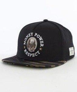 Cayler & Sons-Money Power Respect Cap Snapback Black/Gold/White