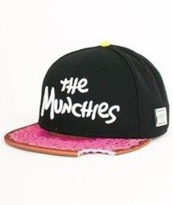 Cayler & Sons-Munchies Cap Black/Pink