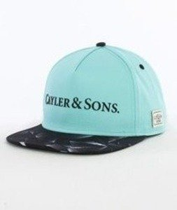 Cayler & Sons-Rocks Cap Snapback Mint/Black