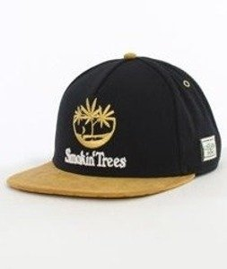 Cayler & Sons-Smokin' Trees Cap Snapback Black/Honey/White