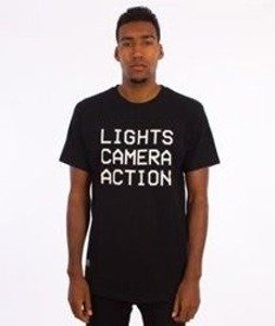 K1X-Lights Camera Action T-Shirt Czarny