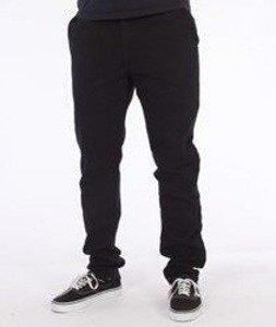 Nervous-Chino Fa16 Spodnie Materiałowe Czarne