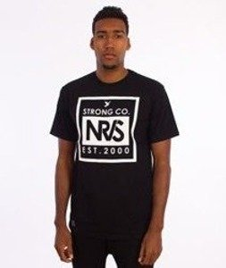 Nervous-Condensed T-Shirt Czarny